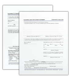 Notary Forms California